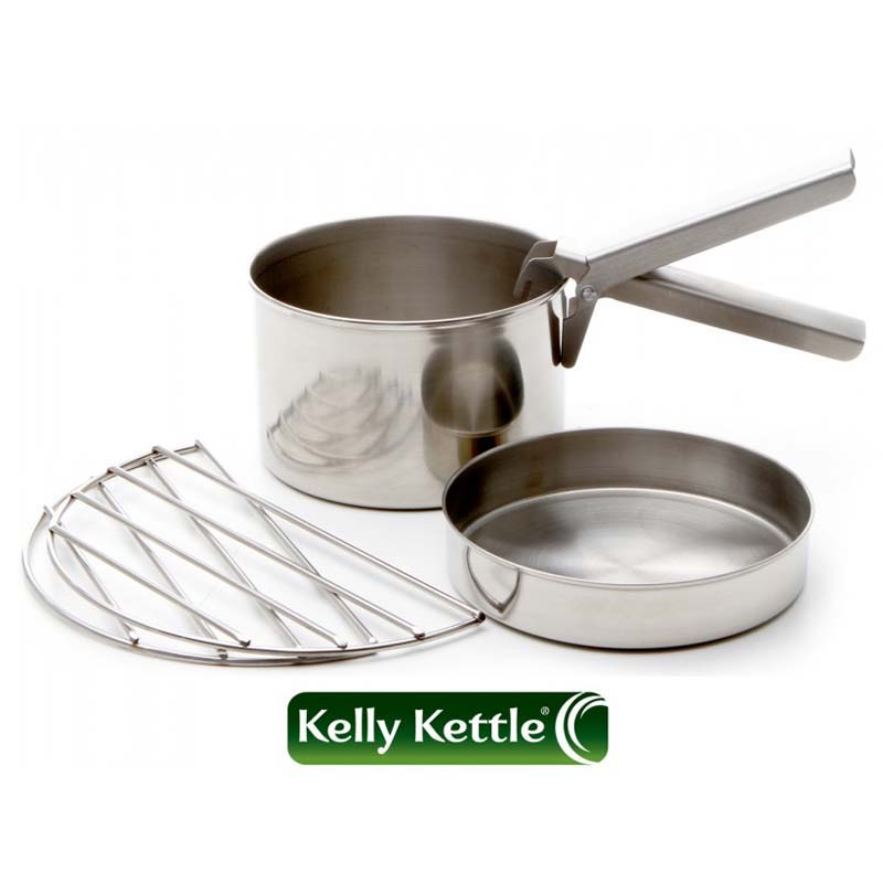 Cooking With A Kettle ~ Kelly kettle cook set stainless steel large tamarack