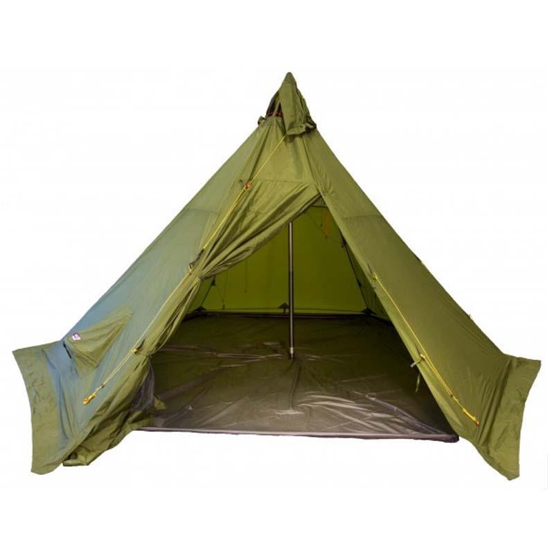 Helsport Pasvik 4 6 Lavvu Outer Tent Tamarack Outdoors