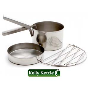 Kelly Kettle Cook Set Stainless Steel - Small