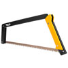 Agawa Canyon Boreal 21 Saw With Sidney All Purpose Blade - Black and Yellow