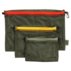 Tasmanian Tiger Mesh Pocket Set - Olive - 7632