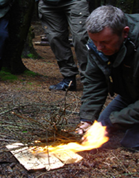 Tamarack Bushcraft Course