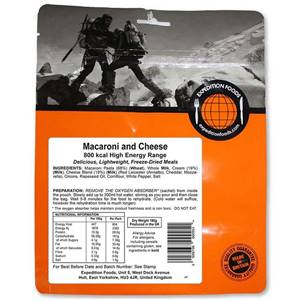 Expedition Foods Macaroni and Cheese 800 Kcal