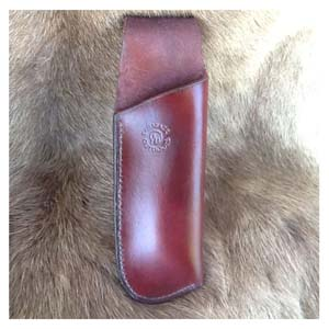 Tamarack Folding Saw Leather Sheath
