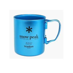 Snow Peak Titanium Double Wall 450 Coloured Mug