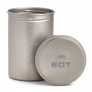 Vargo Titanium BOT Bottle Pot 1 ltr