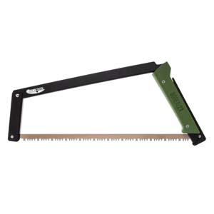 Agawa Canyon Boreal 21 Saw With Sidney All Purpose Blade - Black and Green