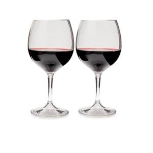 GSI Nesting Red Wine Glass Set
