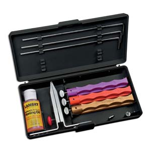 Lansky 3-Stone Diamond Knife Sharpening System