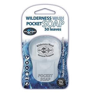 Sea To Summit Wilderness Wash Pocket Soap 50 Leaves