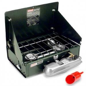 Coleman 2 Burner Unleaded Fuel Stove