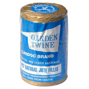Cardoc Natural Jute Garden Twine 3ply