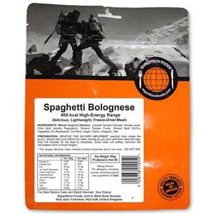 Expedition Foods Spaghetti Bolognese 800 Kcal