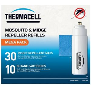 Thermacell Mega Refil Pack - Mats & Gas