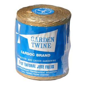 Cardoc Natural Jute Garden Twine 5ply
