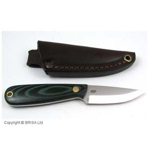 Enzo Necker 70 Knife Micarta 9804