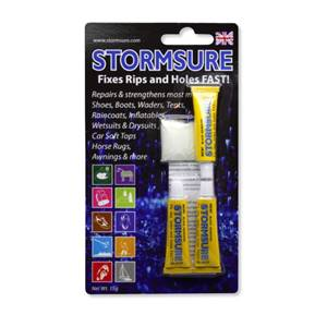 Stormsure Flexible Repair Adhesive 3 x 5g Tube Black