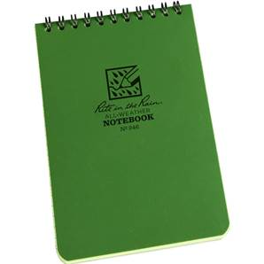 Rite In the Rain Pocket Notebook 946 Green