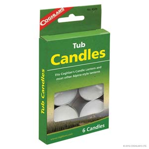 Coghlans Tub Candles