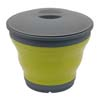 Outwell Collaps Bucket with Lid - Green