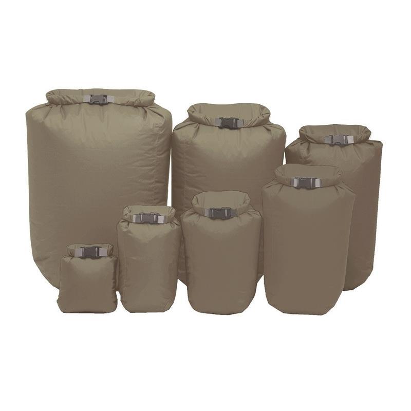 EXPED 100/% Waterproof Fold Dry Bag Black XXS 1 Litre