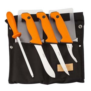 EKA Orange Butcher Set