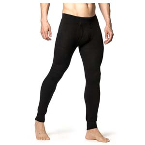 Woolpower Long Johns w fly 200 Extra Large Black