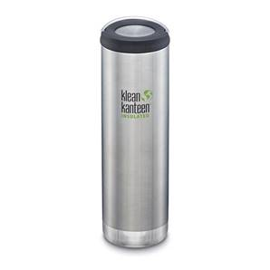 Klean Kanteen Insulated TKWide with Loop Cap 592ml - Brushed Stainless