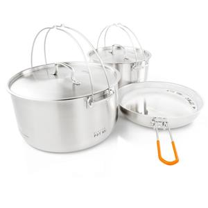 GSI Glacier Stainless Troop Cookset