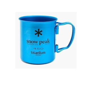Snow Peak Titanium Single Cup 450 Coloured
