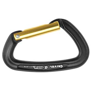 Grivel K1S - Alpha Straight Gate Carabiner