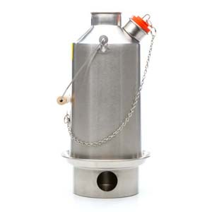 Kelly Kettle Large Base Camp Stainless