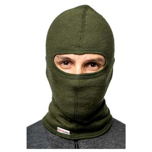 Woolpower Balaclava 200 Green Small